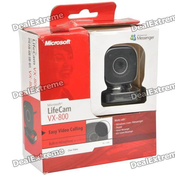 Software microsoft lifecam vx 800 webcam